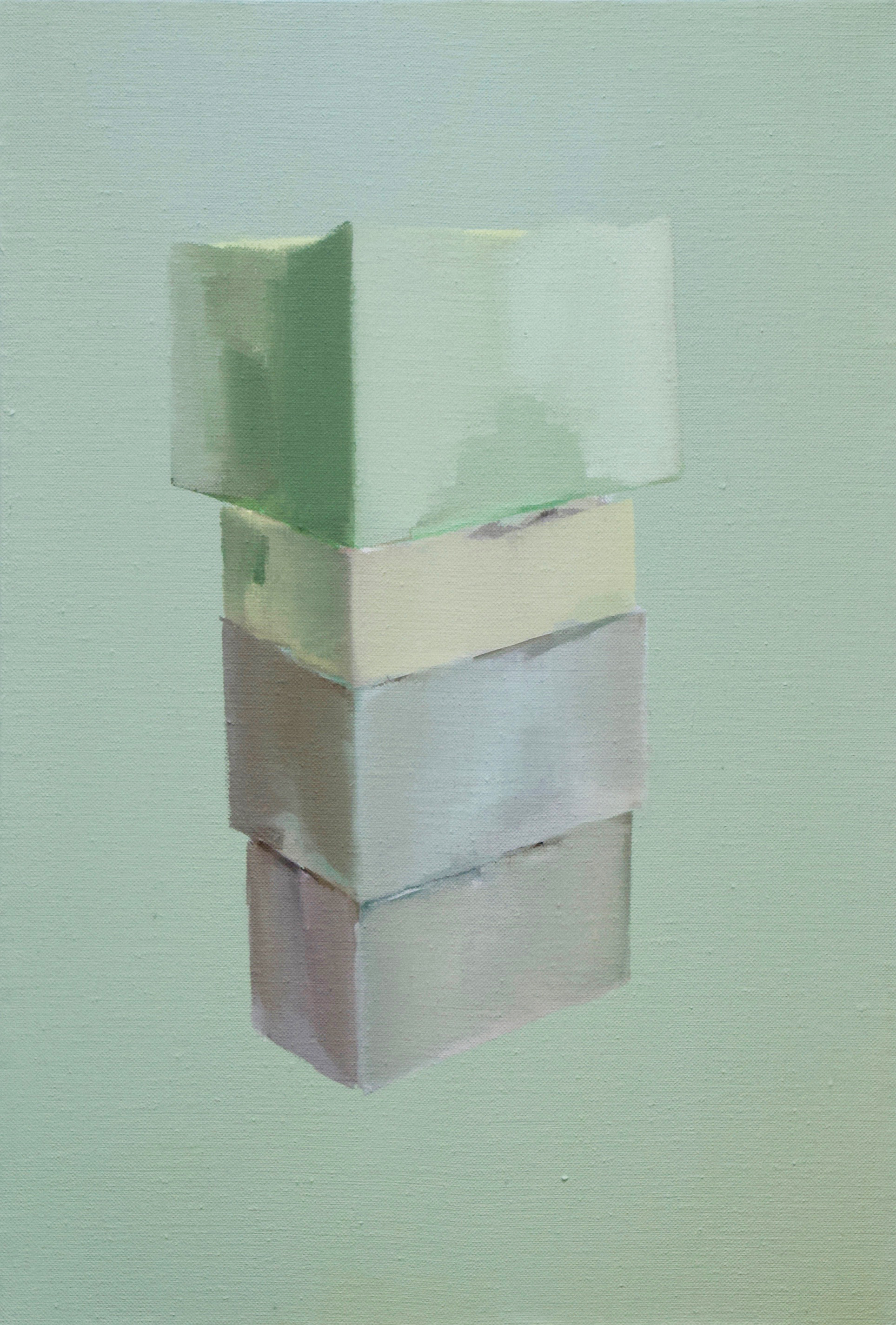 First Other (2019) Oil on linen, 37 x 25 cm